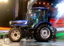 BKT AGRIMAX tyres equip the first driverless tractor by Escorts
