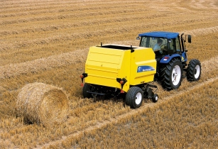 New Holland Agriculture BR6090 round baler wins gold at China's TOP50+ Agricultural Machinery Products of the Year Awards