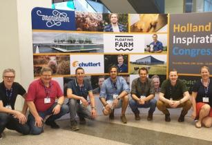 Dutch farmers and team