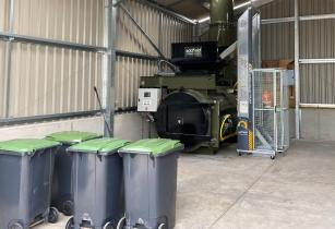 Leedsway Farms A50L with poultry waste bins