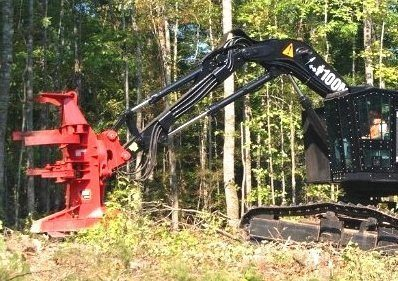 Cat® HF201B felling head