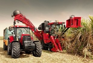 Case IH Sugar Cane Harvester Austoft A8000